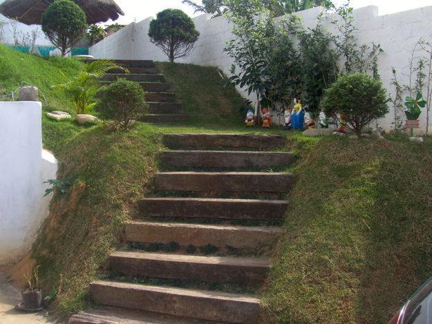 escada jardim madeira : escada jardim madeira:Dormente de Madeira – Kaska Madeiras Ecológicas