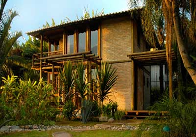 Casas de eucalipto