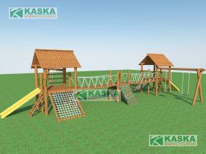 Casa do Tarzan Dupla - K-03